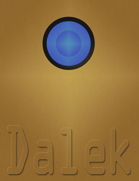 Dalek Poster - Inkstainsonmyjacket