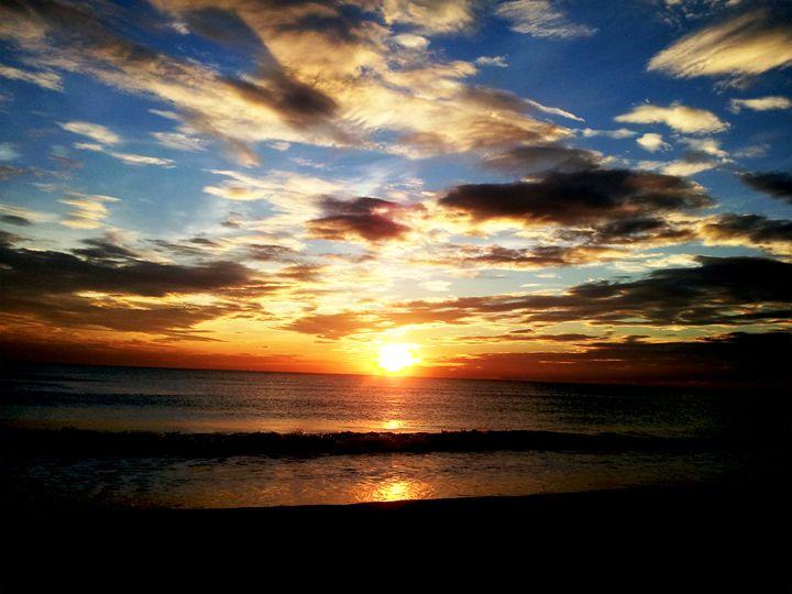 calm sunset - sugiyama kaye