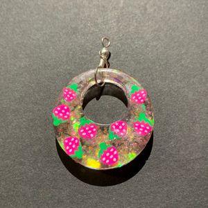Strawberry Necklace Pendant - AngelsWalkAmongst