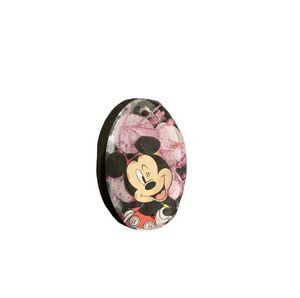 Resin Mickey Mouse Flower Pendant - AngelsWalkAmongst