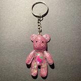 Pink Bear Keychain