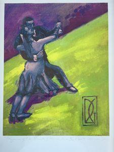 Tango Dancers...of Buenes Aires