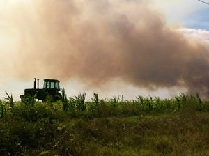 Farming in the Flames