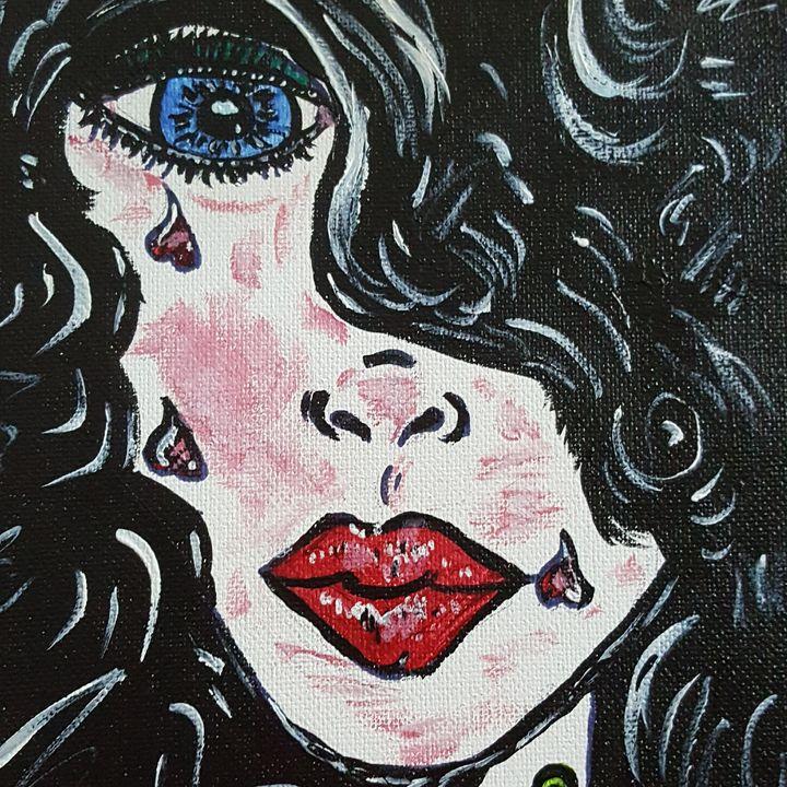 Emma - Hippie Daisy Art