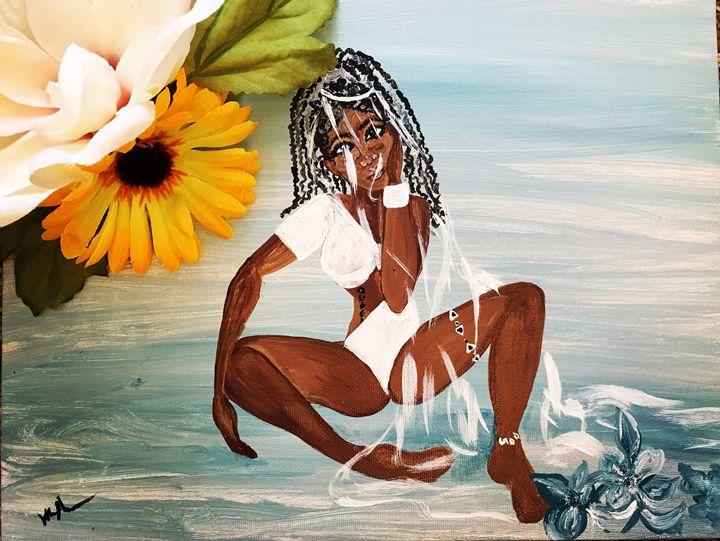 Life's a beach - Art By Wendy