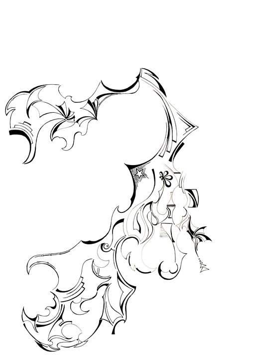 CLAWS - Abstract drawings