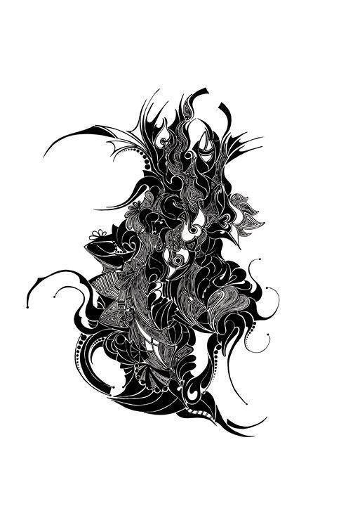 DRAGON - Abstract drawings