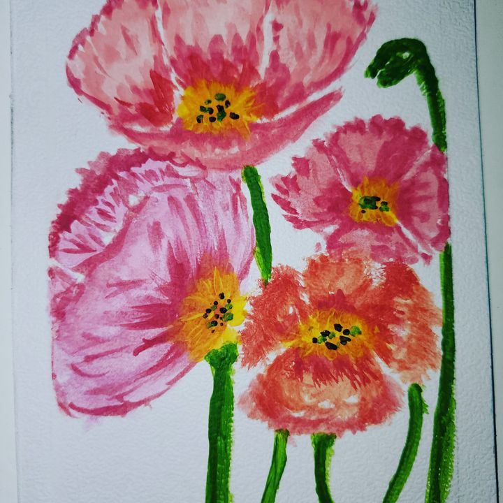 Flowers - Watercolors
