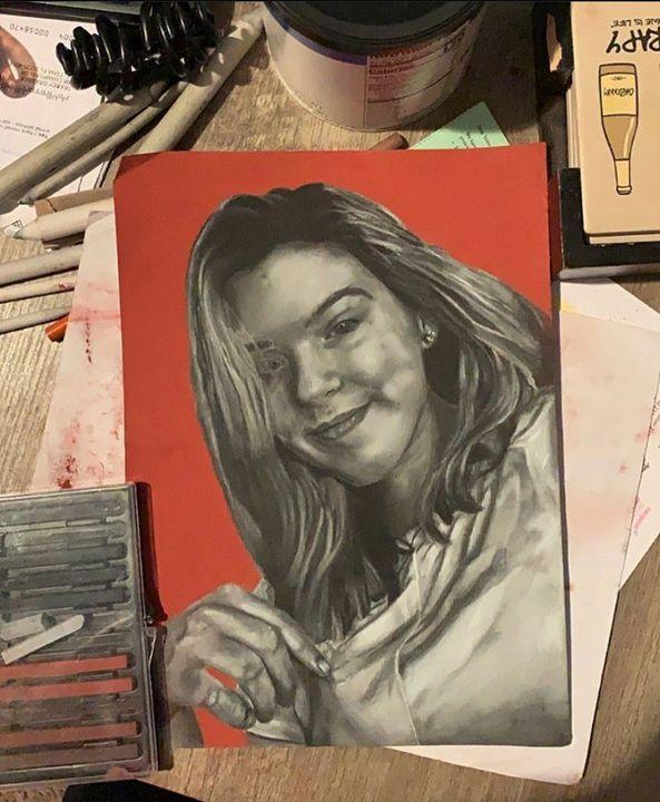 portrait - julie:)