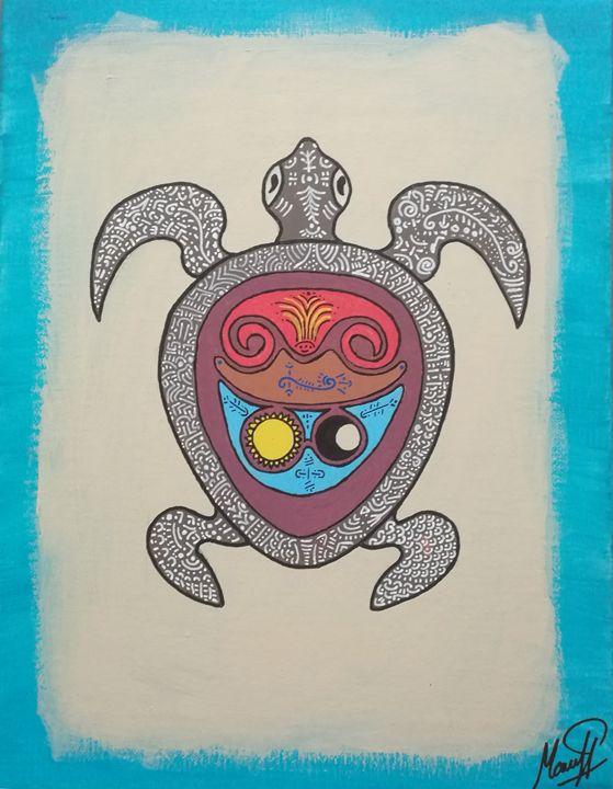 Opus alba turtle - Marcel Pi