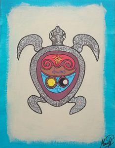 Opus alba turtle
