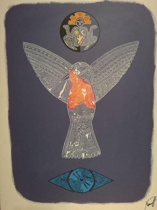 Bird spirit - Marcel Pi