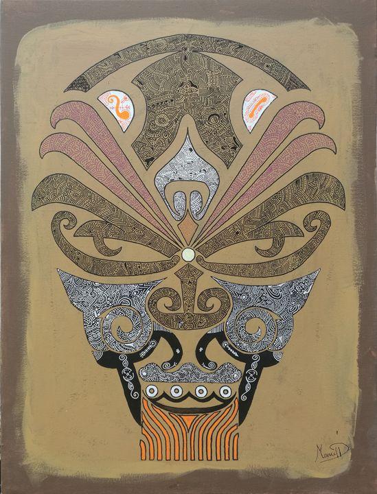 Original skull - Marcel Pi