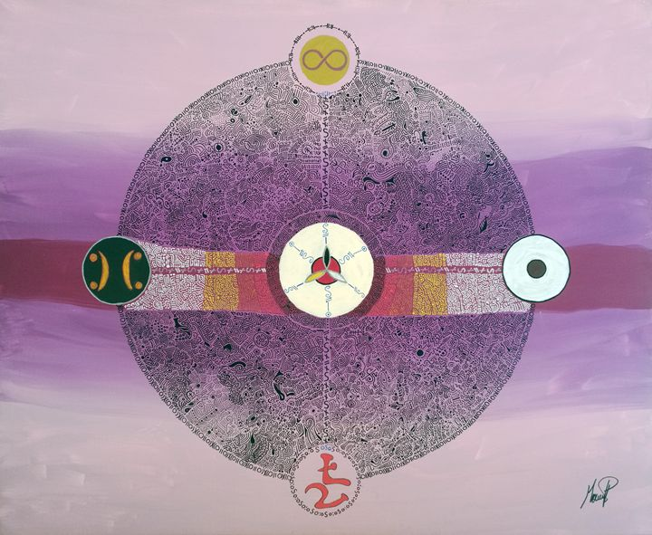Being's mandala - Marcel Pi