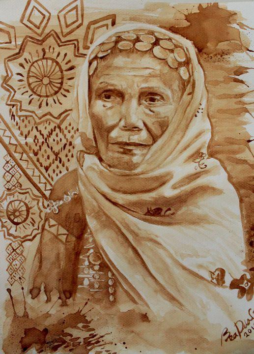 Binukot Portrait - Bea Dela Cruz
