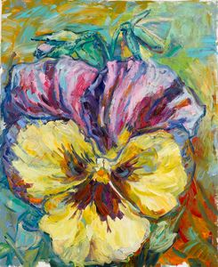 Yellow Smile (Pansy)