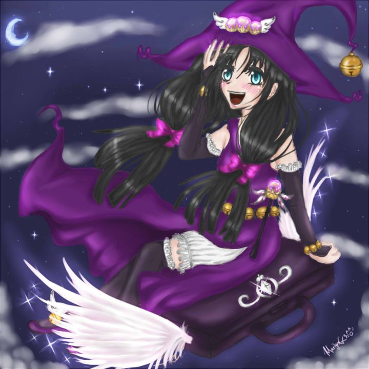 Miss Bell the magical witch - merylove