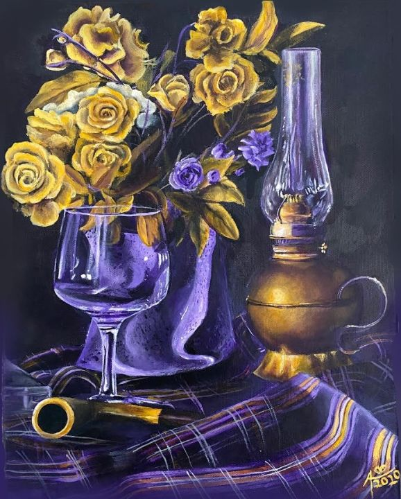 Yellow Roses - Alisa Harmon