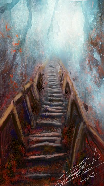 Pathway to the unknown  by Trisha Sh - mylittlebambin