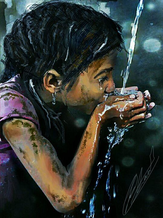 Water is Life  BT Trisha Shah - mylittlebambin