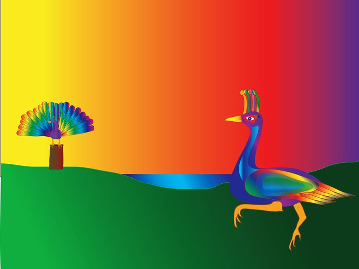 Peacock - Dr. Bill Long