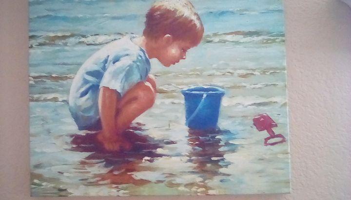Boy at Beach(2piece) - Ryan's collection