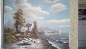 Oceanside scene