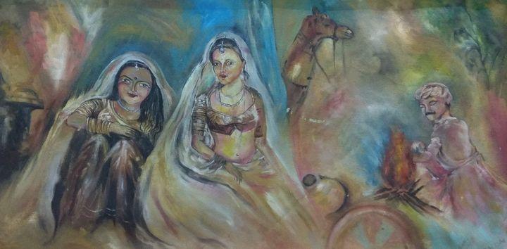 rajasthani ladies - Antara