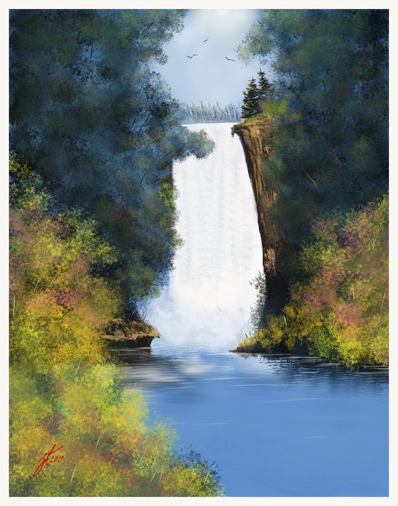 Hidden Falls - JohnThompson ART