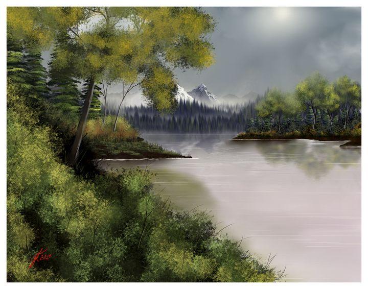 Looks Like Rain - JohnThompson ART