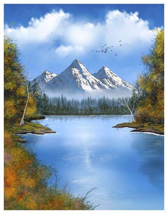 Serenity Mountain - JohnThompson ART