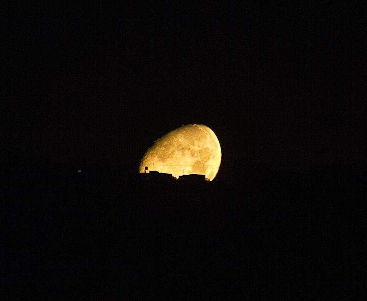 Moon - Photo Art