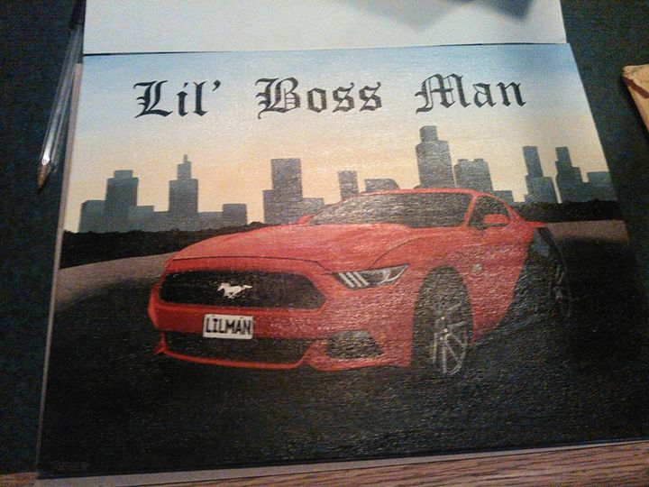 Lil Boss Man - my portraits