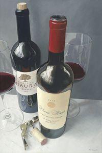 haura, seven rings wine bottles