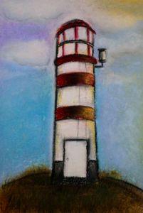 Lighthouse on a hill