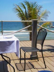"""Seaside Dining"""