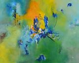 mixed media, Canvas, Acrylic