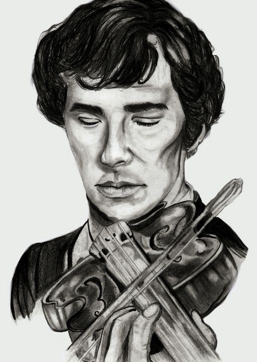 Sherlock Holmes: Violin - artaddict17