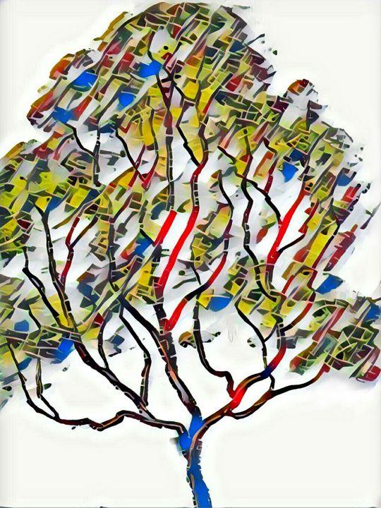 My tree of many colors - Minkim