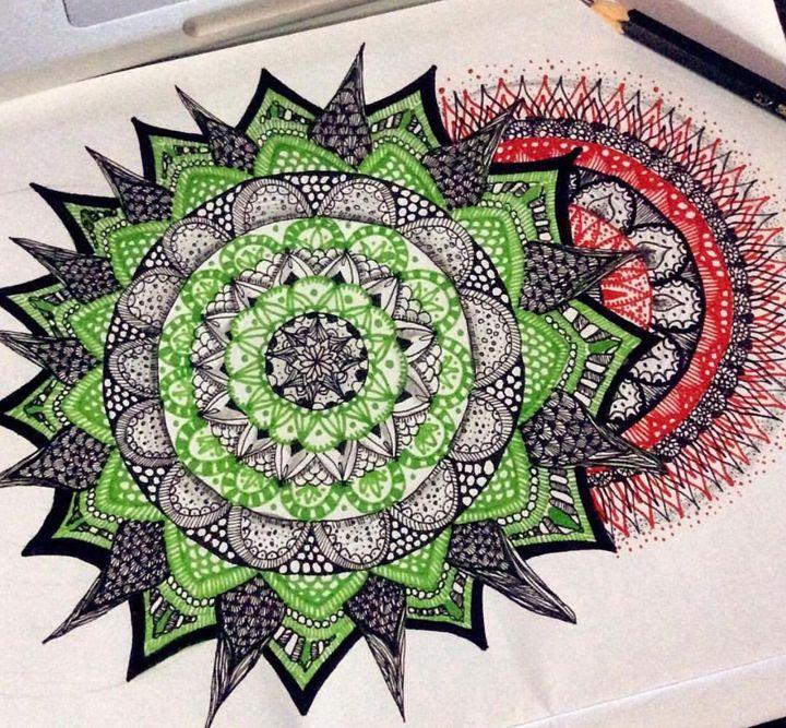 Blossom. - Mandala - Dee Arts