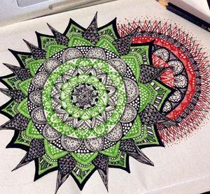 Blossom. - Mandala