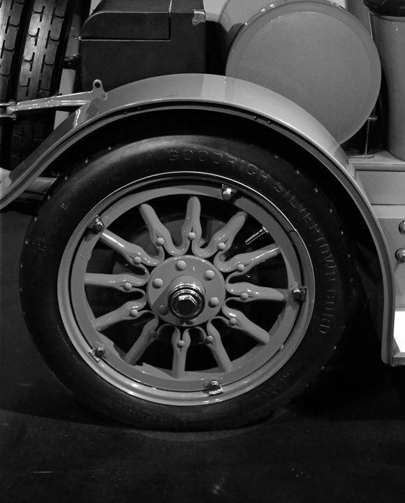 Classic Car B&W - gOrk's BMX Art