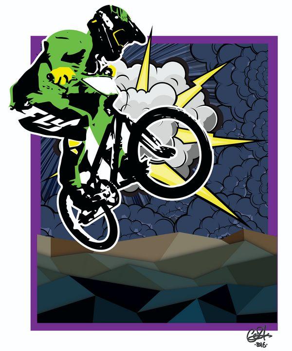 BMX - Thunder 'n Lightning - gOrk's BMX Art