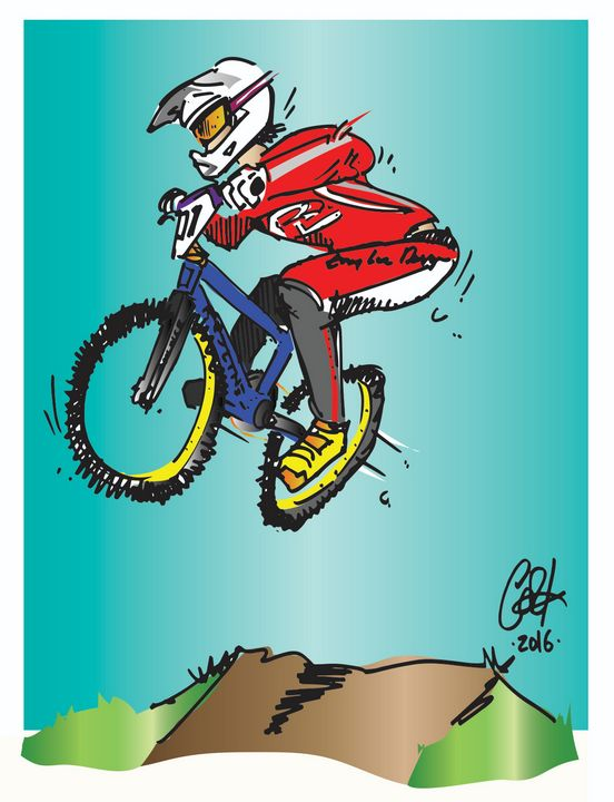 Jumpin' JIM - gOrk's BMX Art