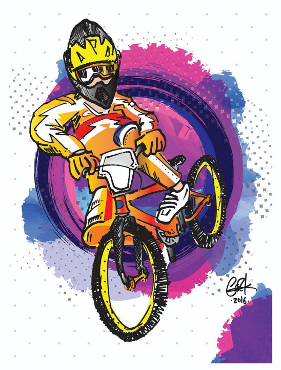 Whip It Good II - gOrk's BMX Art
