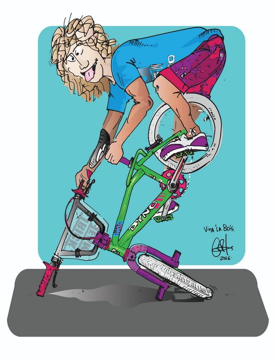 Totally 80's BMX Freestyle - gOrk's BMX Art