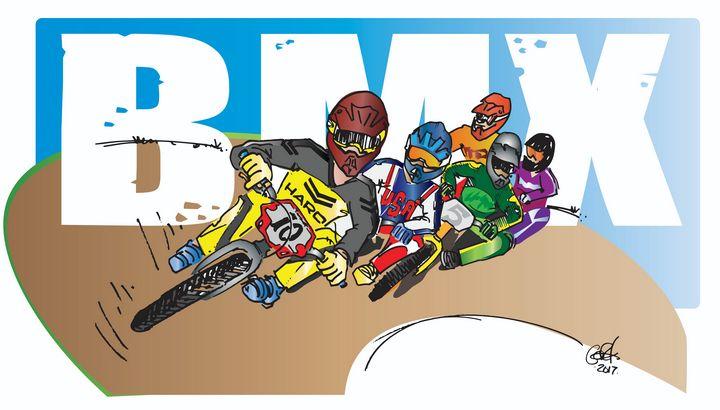 BMX Bermshot - gOrk's BMX Art