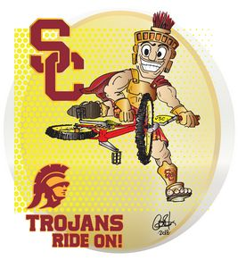 USC Trojans Ride On!