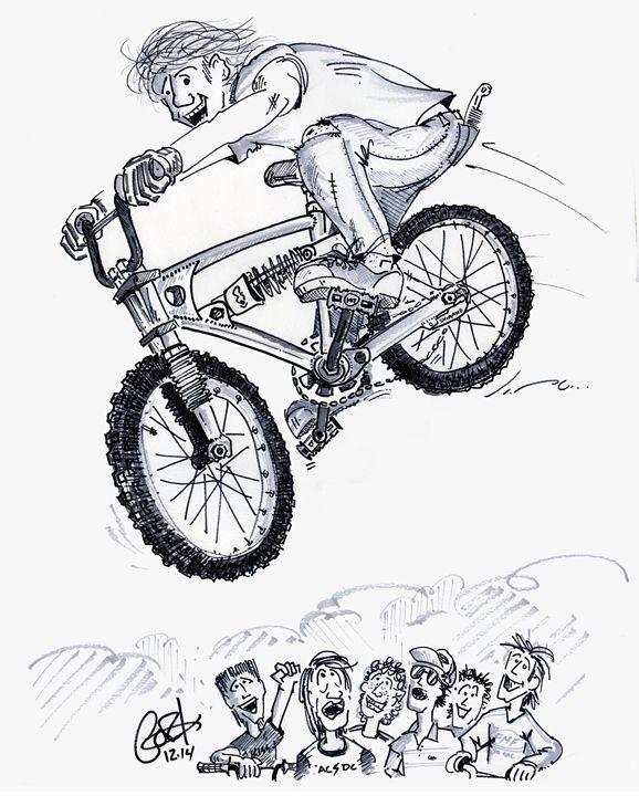 Monoshockin' - gOrk's BMX Art