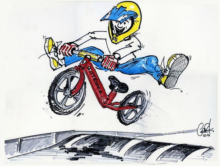 Strider Style - gOrk's BMX Art